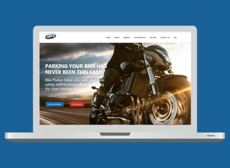 Bike Parker Web Design