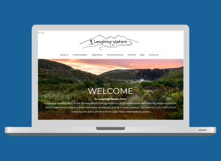 Laughing Waters Farm Web Design